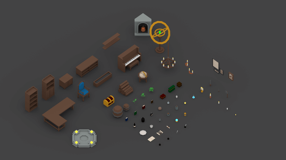 Medieval Assets: Interior Items